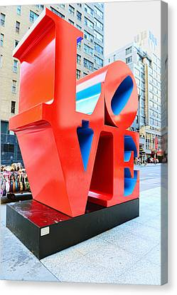 The Love Sculpture Canvas Print by Paul Ward
