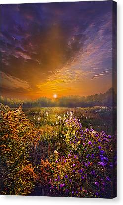 The Love That Lights My Way Canvas Print