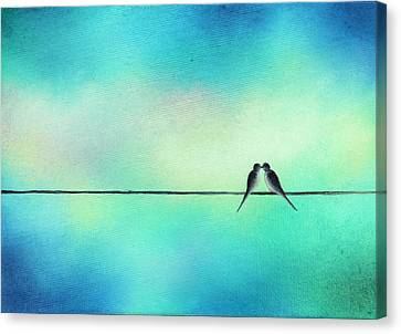 The Love We Hold Canvas Print by Rachel Bingaman