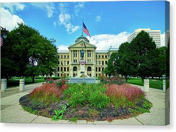 The Lucas County Courthouse Canvas Print