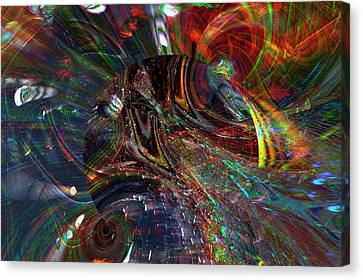 The Lucid Planet Canvas Print by Richard Thomas