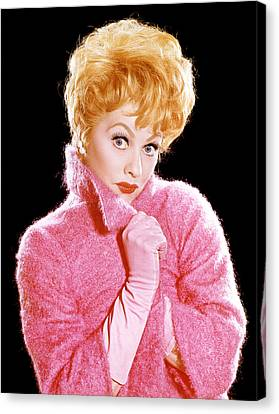 The Lucy Show, Lucille Ball, 1962-68 Canvas Print by Everett