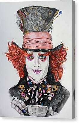 The Mad Hatter Canvas Print