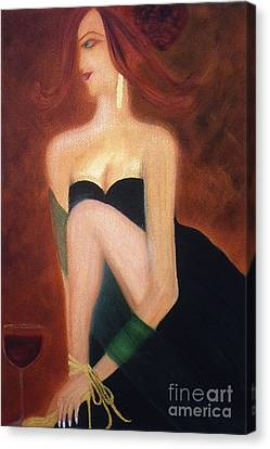 The Magic And Mystery Of Merlot Canvas Print