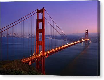 The Magic Bridge Canvas Print