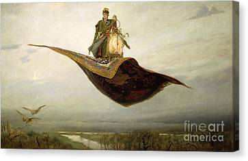 The Magic Carpet Canvas Print by Apollinari Mikhailovich Vasnetsov