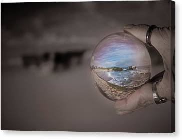 Canvas Print featuring the photograph The Magic by Lora Lee Chapman
