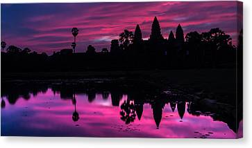 The Magic Of Angkor Wat Canvas Print