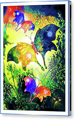 The Magic Of Butterflies Canvas Print