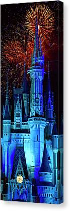 The Magic Of Disney Canvas Print by Mark Andrew Thomas