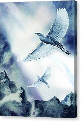 The Magic Of Flight Canvas Print by Hartmut Jager