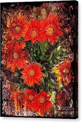 The Magical Flower Garden Canvas Print