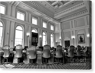 The Maine Senate Chamber Canvas Print
