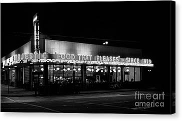 The Majestic Diner Canvas Print by Arni Katz