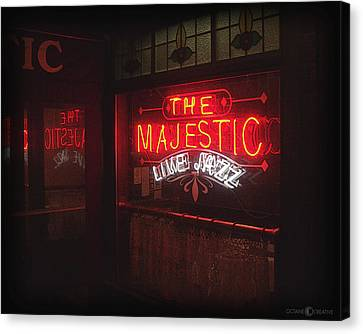 The Majestic Canvas Print by Tim Nyberg