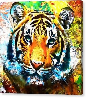 The Malayan Tiger Canvas Print