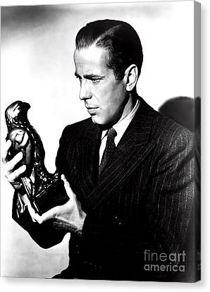 Sam Spade Canvas Print - The Maltese Falcon by Pd