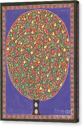 The Mango Tree Canvas Print