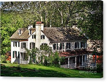 The Mansion At Hopewell Furnace Canvas Print