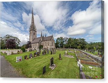 Canvas Print featuring the photograph The Marble Church by Adrian Evans