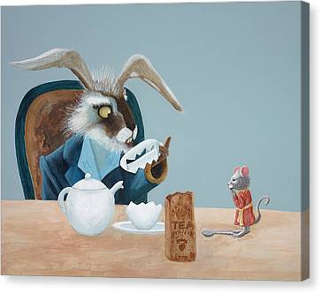 March Hare Canvas Print - The March Hare by Joe Odonovan
