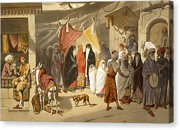 The Marriage Of An Arab In Cairo Canvas Print