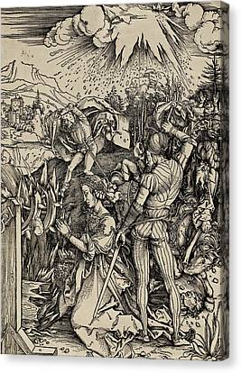The Martyrdom Of St. Catherine Of Alexandria Canvas Print