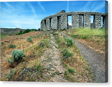 The Maryhill Stonehenge Canvas Print by Joanne Coyle