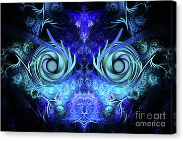 The Mask Canvas Print by John Edwards