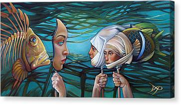 Seaweed Canvas Print - The Masqueradeum by Patrick Anthony Pierson