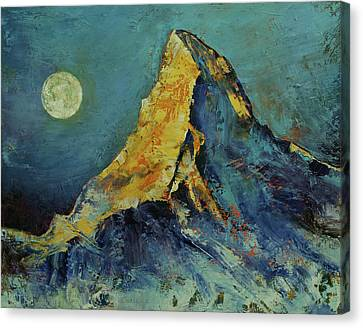 The Matterhorn Canvas Print by Michael Creese