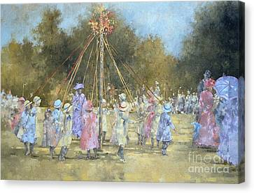 The Maypole  Canvas Print by Peter Miller