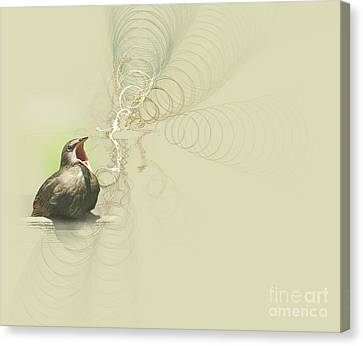 The Mechanical Energy Of Sound Canvas Print