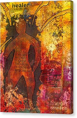The Medicine Man Canvas Print by Angela L Walker