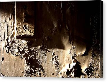The Meltdown Canvas Print by Kreddible Trout