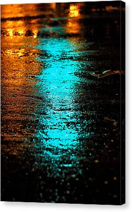 The Memory Lane II Canvas Print by Prakash Ghai