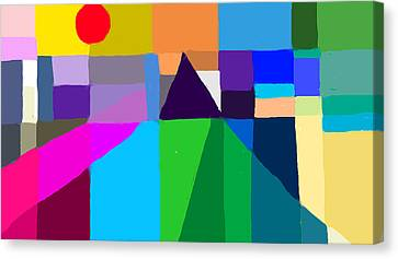 The Memory Of Daydreams Canvas Print by Paul Sutcliffe