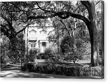 The Mercer Williams House Canvas Print