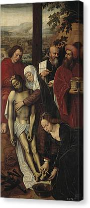 The Mercy  Canvas Print by Ambrosius Benson
