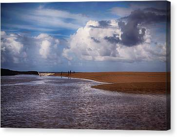 The Merge Canvas Print by Laurie Search