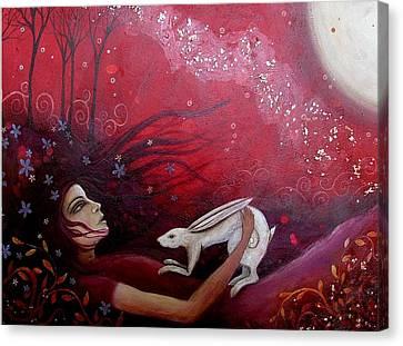 The Messenger Canvas Print by Amanda Clark