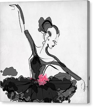 The Met Dancer Canvas Print