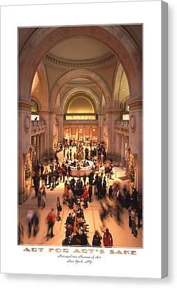 The Metropolitan Museum Of Art Canvas Print by Mike McGlothlen