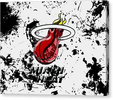 The Miami Heat 1c Canvas Print