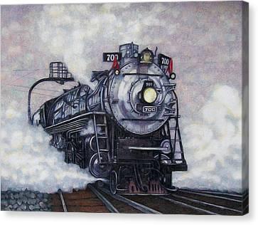 The Mighty Brooklyn 700 Canvas Print by Edward Ruth