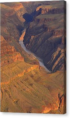 Canvas Print featuring the photograph The Mighty Colorado by Stephen  Vecchiotti