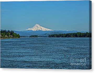 The Mighty Columbia Canvas Print by Jon Burch Photography