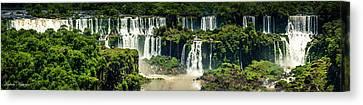 The Mighty Iguazu  Canvas Print by Andrew Matwijec