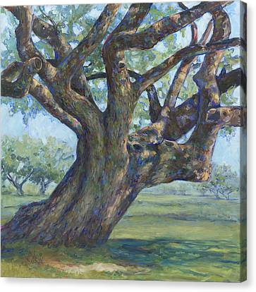The Mighty Oak Canvas Print by Billie Colson