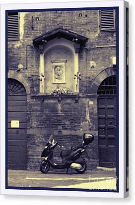 The Mighty Vespa Canvas Print